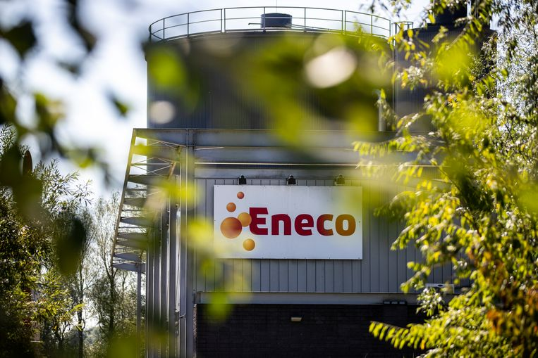De warmtekrachtcentale van Eneco in Den Haag. Beeld Hollandse Hoogte / Laurens van Putten