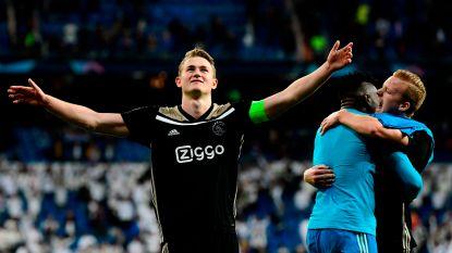 """Piepjonge Ajax-kapitein De Ligt: """"Of het laat zal worden? Dat denk ik wel, ja"""""""