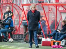 Alleen Verbeek lijkt nog te geloven in  systeem dat FC Twente nog niets bracht