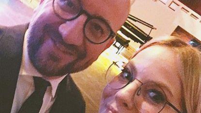 """Eline De Munck gaat in zee met premier Michel: """"My New BFF"""""""