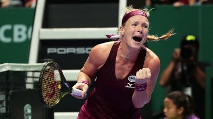 Bertens klopt Kerber in rode groep op WTA Finals - Wawrinka zet geblesseerd punt achter seizoen
