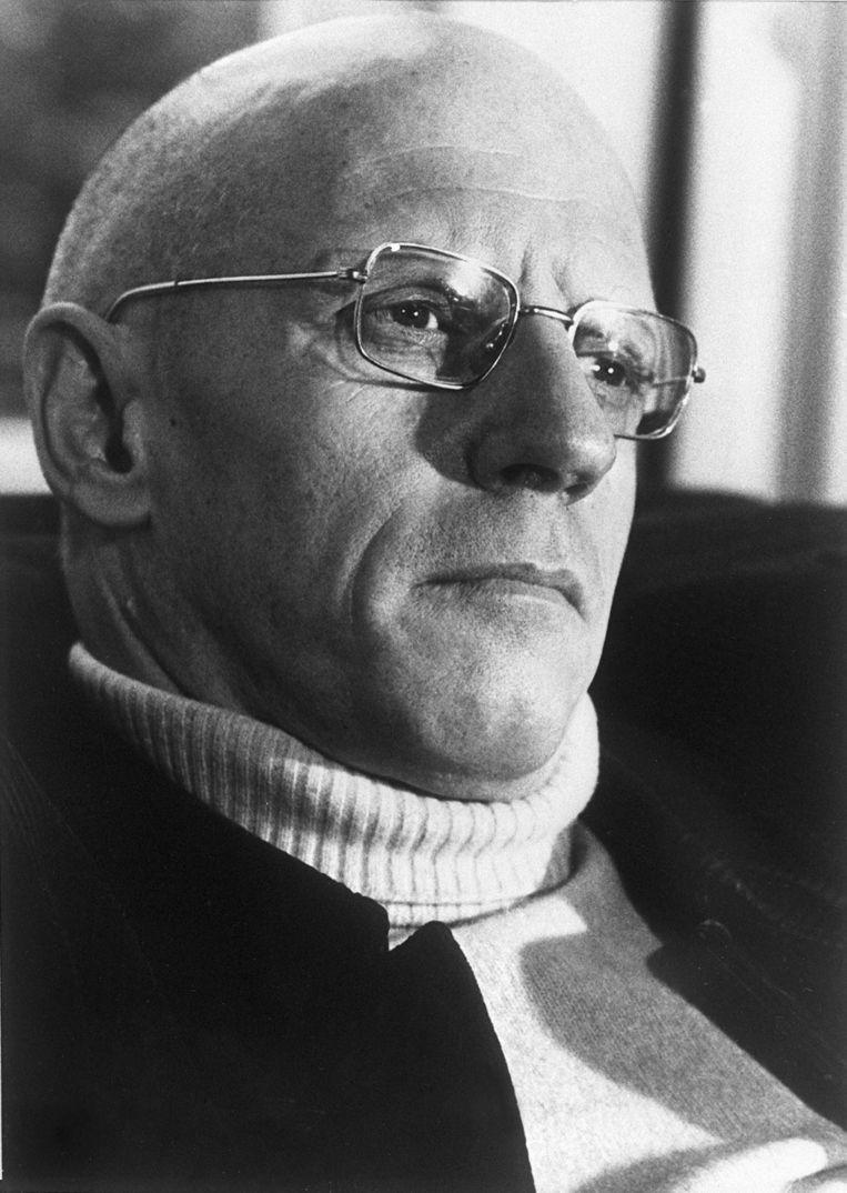 Foucault: hardhollend terug... Beeld afp