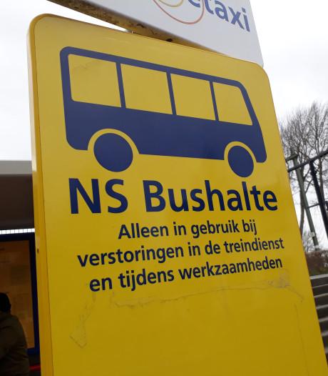 Komend weekeinde bus in plaats van trein rond Gouda en Woerden