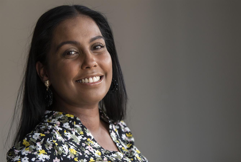 """Prya Rampersad is het gezicht van de collecteweek van de Nierstichting, die deze week loopt. """"Na een dialyse ben ik kapot. Het is alsof je een marathon hebt gelopen, of je krijgt een katergevoel."""""""