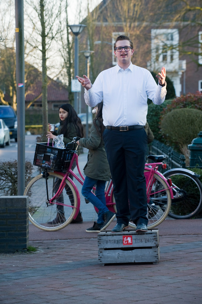 Niels van Andel in Opheusden.