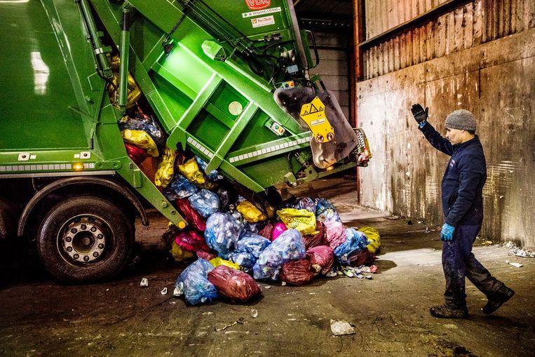 In 2014 produceerde België per inwoner 432 kilo huishoudelijk afval, tegen 526 kilo in Nederland en 481 kilo gemiddeld in de Europese Unie. Beeld Aurelie Geurts