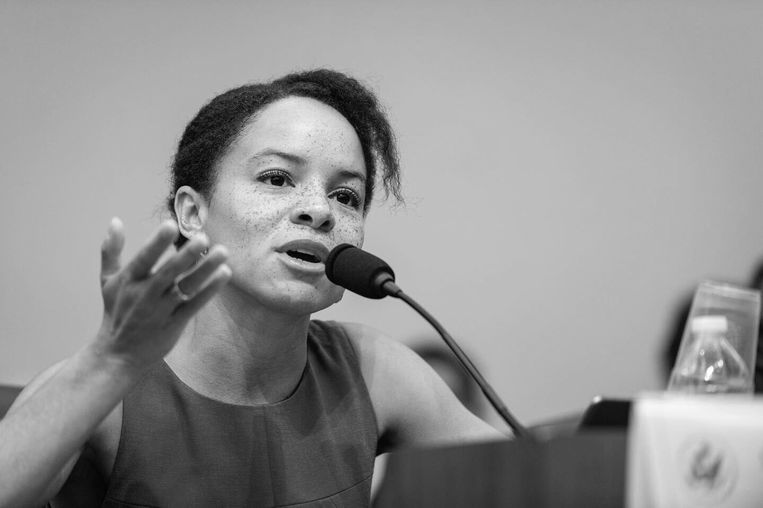 Samira Rafaela, lid van het Europees Parlement namens D66. Beeld