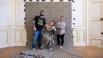 Kunstenares creëert uniek werk voor nieuwe expo van kasteel d'Ursel