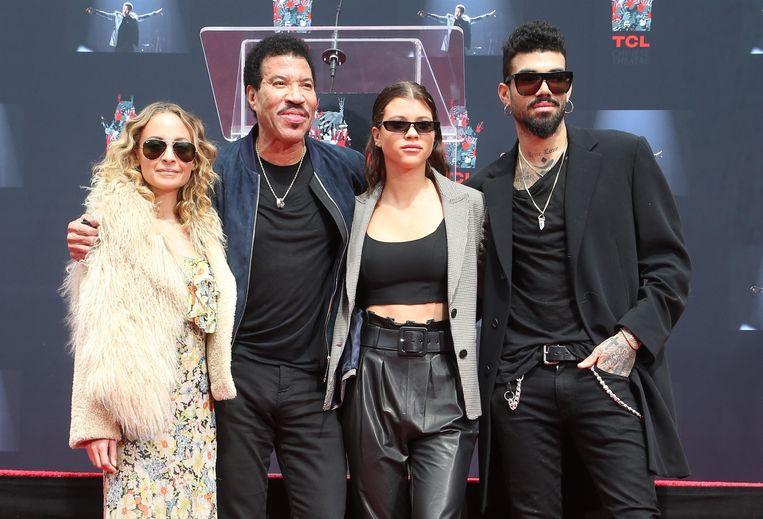 Nicole Richie, Lionel Richie, Sofia Richie, Miles Richie