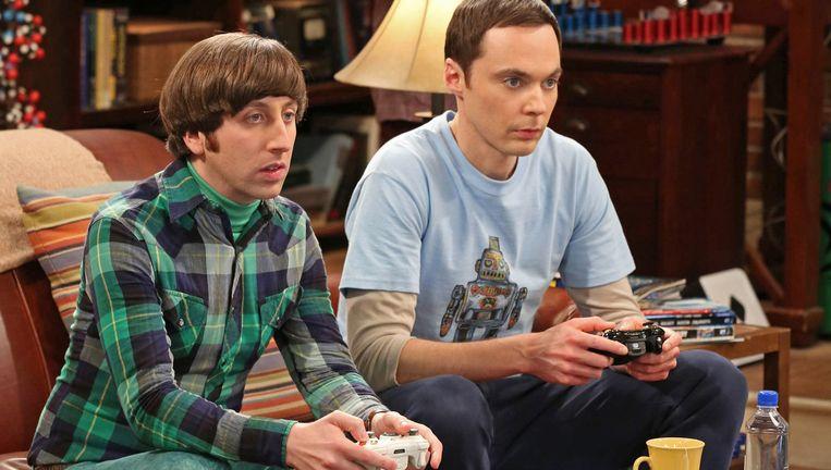 Fragment uit 'The Big Bang Theory'. Ook wij zijn fan van deze nerds.