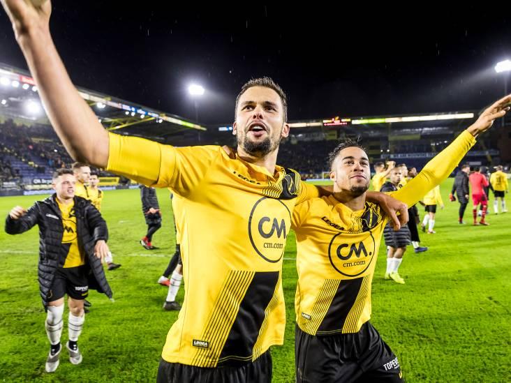 Van donkere wolken boven het Rat Verlegh Stadion tot fans in extase: de zege van NAC op Vitesse in beeld