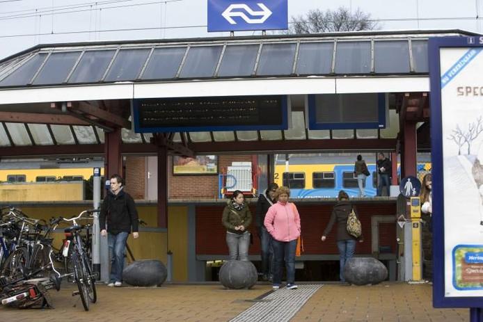 Station Ede-Wageningen. foto Herman Stover