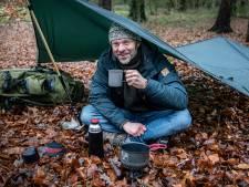 Overleven op de wintercamping: eerst rondje flink rennen, dan de tent in