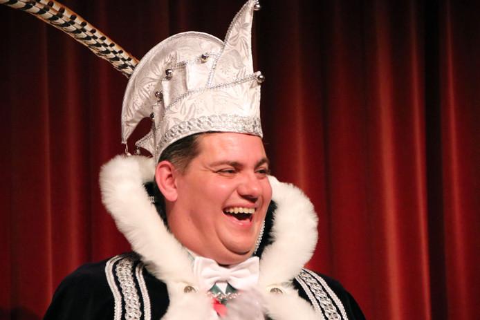 Het Peeënrijk heeft een nieuwe Prins Carnaval! Prins Andreo LX, in de persoon van Frank Snijders.