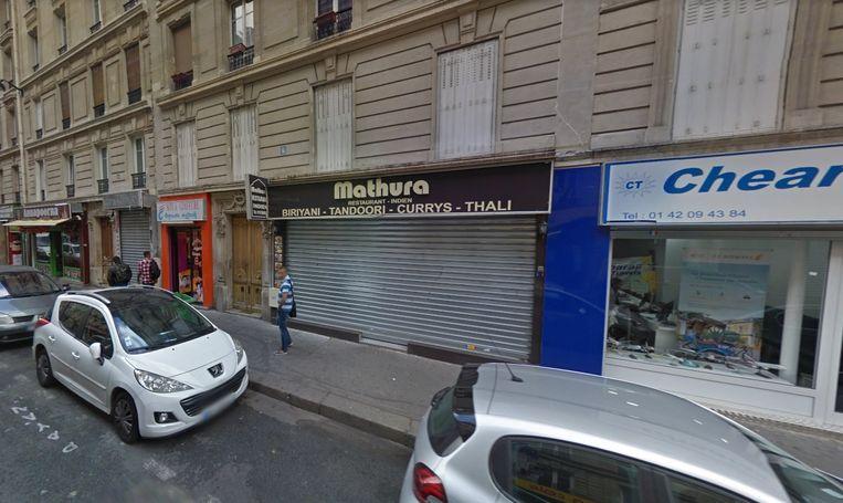 De moordpoging gebeurde in het Indiase restaurant Mathura in het 10e Arrondissement van Parijs.