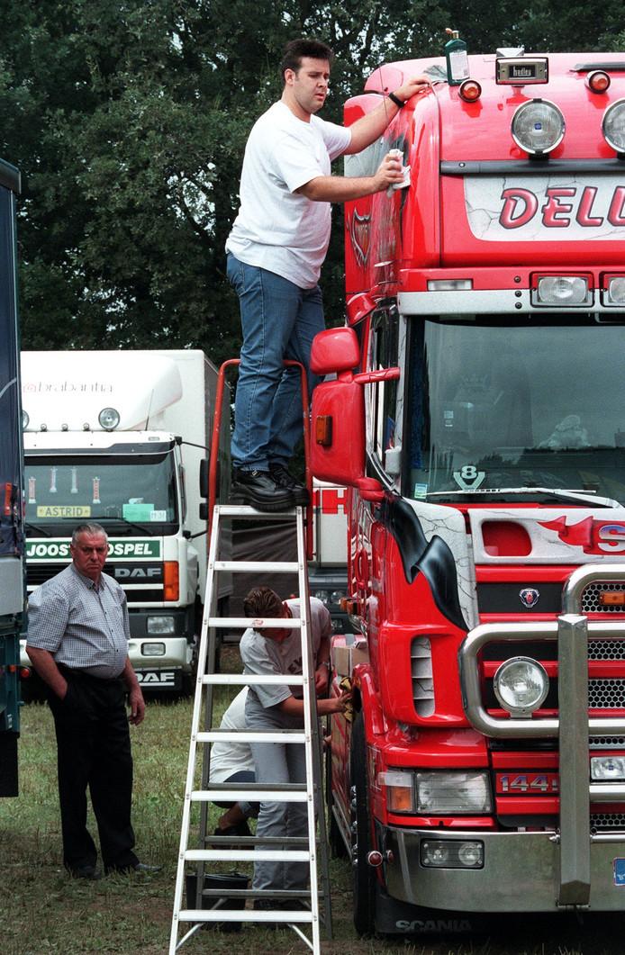 Een eerdere editie van de Truckshow in Liessel