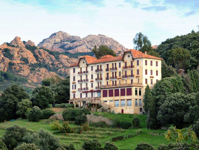 'De ideale plek om uit te rusten.' Foto Hotel Les Roches Rouges Beeld RV - Hotel Les Roches Rouges Piana