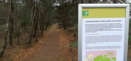 Staatsbosbeheer sluit acht wandelpaden voor natuur