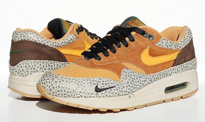 "Nike Air Max 1B atmos ""Safari"" (2002)"