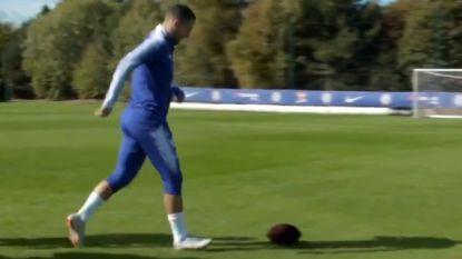 De magiër: Chelsea-collega's kunnen aardig met football overweg, maar wat Eden Hazard doet is briljant
