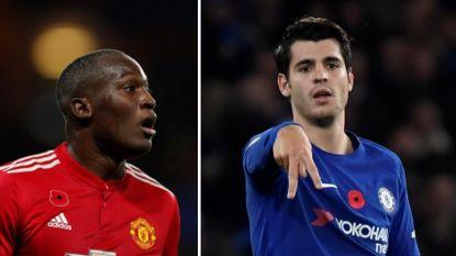 Morata wint duel der spitsen van 'babyface' Lukaku, waardoor Chelsea weer helemaal meedoet bovenin (1-0)