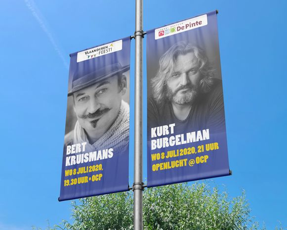 Bert Kruismans en Kurt Burgelman komen op 8 juli naar De Pinte.