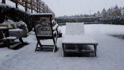 Eerste sneeuw zorgt voor idyllische plaatjes
