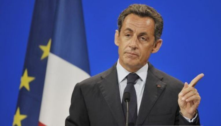 President Nicolas Sarkozy van Frankrijk. ANP Beeld