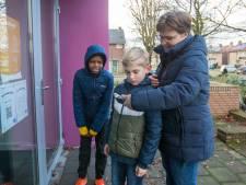 Wandeling met kerstverhaal op de telefoon in Veldhoven