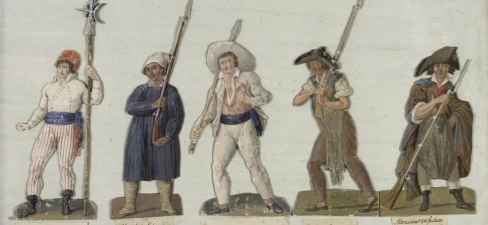'Broeklozen' heetten de gele hesjes tijdens de Franse revolutie