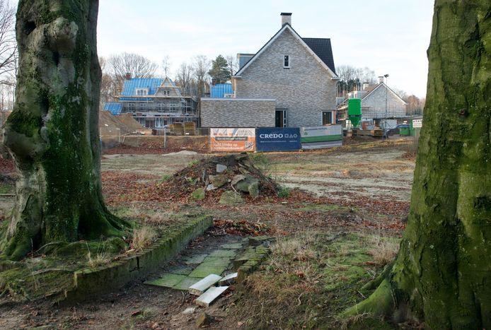 De Del in Rozendaal, Heerlijckheid den Dael, in aanbouw op archiefbeeld.