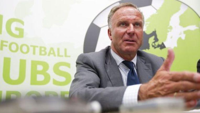 Voorzitter Karl-Heinz Rummenigge van Bayern München. Foto ANP Beeld