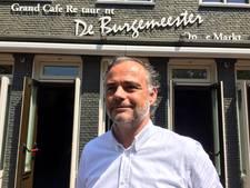 De Burgemeester op de Markt in Etten-Leur weer open