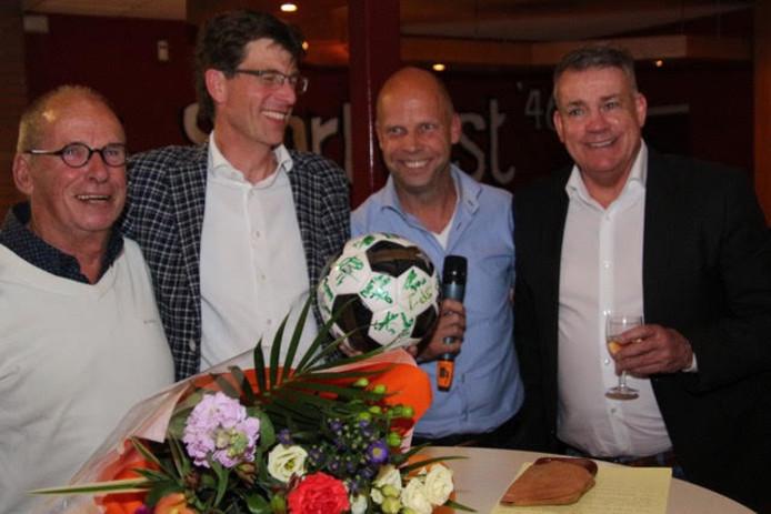Sierd de Vos is te gast op een sponsoravond van Sportlust'46.