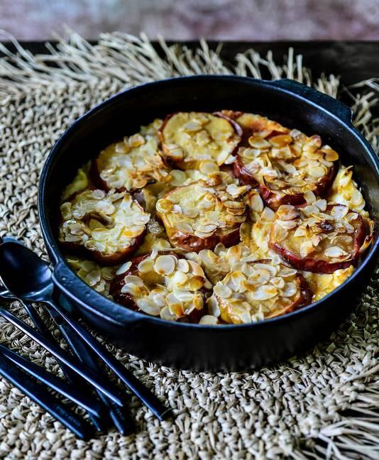 """Petites pommes au four et mascarpone, """"Ma cuisine pour une vie meilleure"""""""