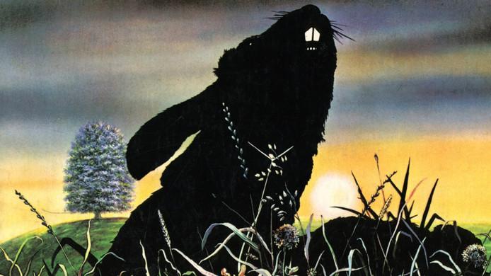 Filmposter van de film 'Watership Down' uit 1978.