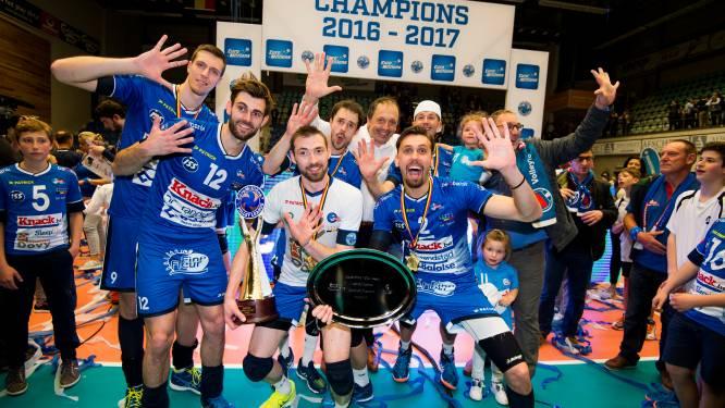 Roeselare pakt vijfde volleytitel op rij