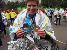 Brigitte van der Pluijm uit Prinsenbeek loopt zesde grote marathon uit