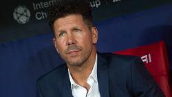 FT buitenland. Ex-coach Simeone geeft zijn mening over transfer Courtois - Mandzukic zwaait af bij Kroatië