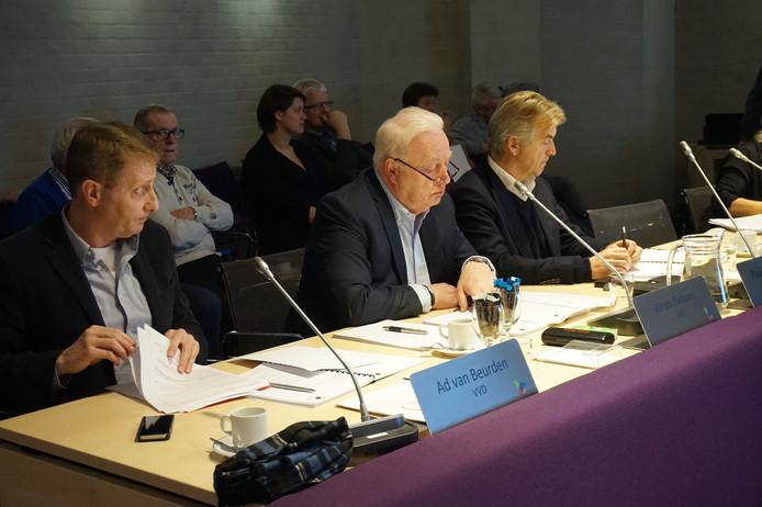 De fractie van de VVD tijdens de begrotingsbehandeling.