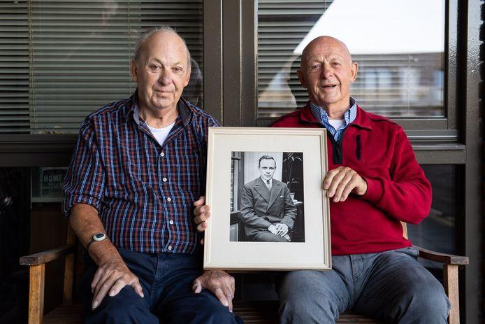 De broers Bruinhaar verloren hun vader bij het bombardement op Hengelo.