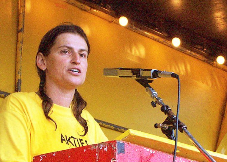 Elise Leijten op 1 oktober 2000. Beeld Vredesmuseum