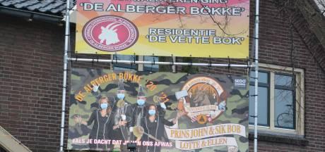 Toch nog beetje carnaval bij de Alberger Bökke