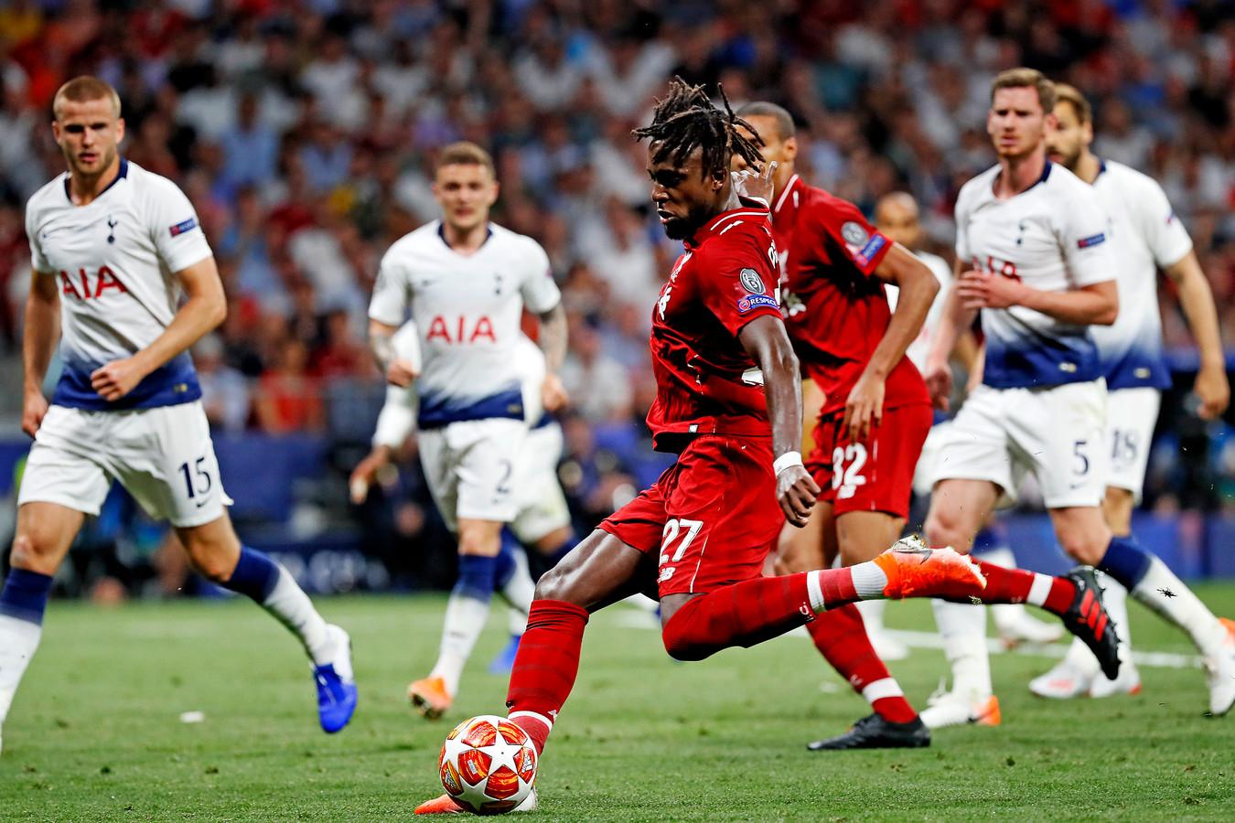 Origi beslist de finale; 2-0 voor Liverpool.