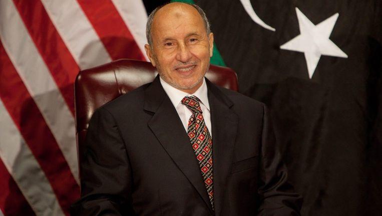 Mustafa Abdul-Jalil, hoofd van de Nationale Overgangsraad. Beeld epa