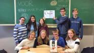 Leerlingen Sint-Jozefsinstituut schenken cheque aan Natuurpunt