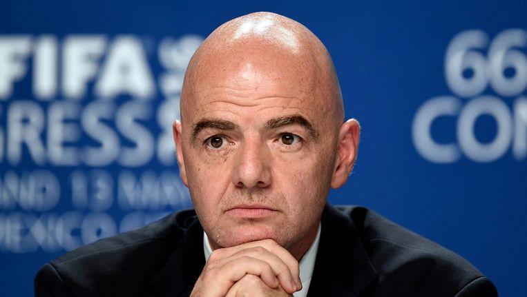 FIFA president Italian Gianni Infantino. Beeld anp