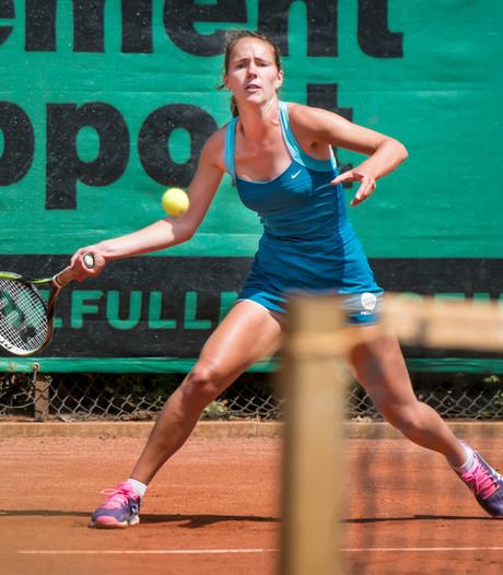 Winnen zonder het spelen van de finale bij tennistoernooi in Prinsenbeek
