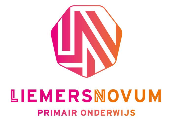 Het nieuwe logo van de nieuwe Liemerse scholenkoepel.