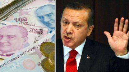 Erdogan drijft waarde van Turkse lira naar de afgrond